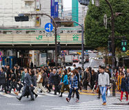 Скрещивание Shibuya Стоковое Фото