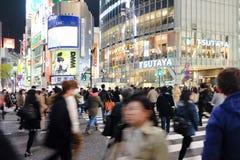 Скрещивание Shibuya Стоковая Фотография RF