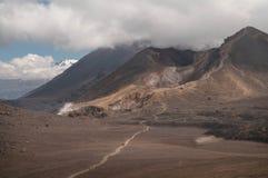 Скрещивание Tongariro Стоковое Фото