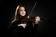 Скрипач музыканта игрока скрипки классический Стоковые Изображения