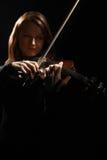 Скрипач музыканта игрока скрипки классический Стоковое Изображение RF