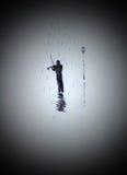 Скрипач на улице Стоковое Изображение RF