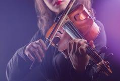скрипач стоковое фото