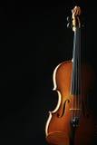 Скрипка аппаратур классической музыки Стоковое Изображение