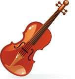 скрипка вектора Стоковое фото RF