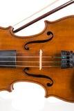 Скрипка в винтажном стиле стоковое фото