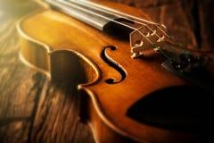 Скрипка в винтажном стиле стоковые фото