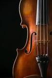 Скрипка в винтажном стиле стоковое фото rf
