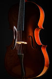 Скрипка в темной комнате Стоковое фото RF