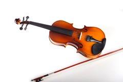 Скрипка и смычок Стоковое фото RF