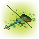 скрипка лета Стоковая Фотография RF