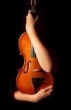 Скрипка сбора винограда Стоковая Фотография RF