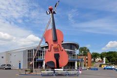 Скрипка Сиднея стоковое изображение rf