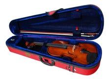 скрипка случая Стоковое фото RF