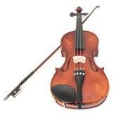 скрипка смычка Стоковое Изображение RF