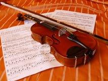 скрипка 04 Стоковое Изображение