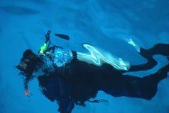 скуба водолаза Стоковая Фотография