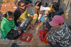 скудость Непала Стоковое Фото