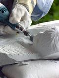 скульптор стоковая фотография rf