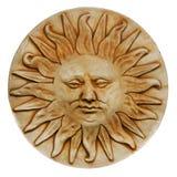 Скульптура бога Солнця Стоковые Изображения RF