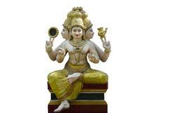 Скульптура божества Trimurti стоковые фото