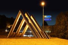 Скульптура в Vaals Стоковое Фото