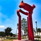 Скульптура двери Saturnina Стоковое Изображение