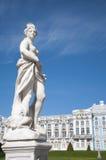 скульптура дворца s ekaterina стоковое изображение rf