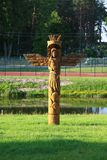 скульптура деревянная Стоковая Фотография
