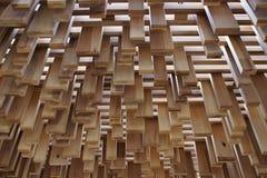 скульптура деревянная Стоковые Фотографии RF