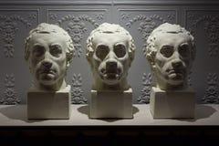 Скульптура дизайна для дизайна интерьера стоковое изображение rf