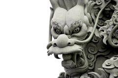 скульптура дракона Стоковая Фотография RF