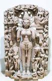 Скульптура Индия Gauri каменная стоковое изображение