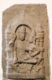 Скульптура Индия Maheshwar Умаа каменная стоковая фотография rf