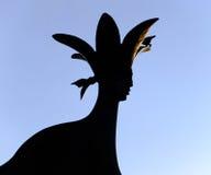 Скульптура искусства, Пальмерстон северный Стоковое Фото