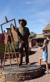 Скульптура искусства улицы в Sedona, Аризоне стоковые изображения rf