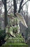 Скульптура кладбища стоковое фото rf