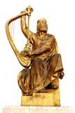 скульптура короля Давида Стоковое Изображение