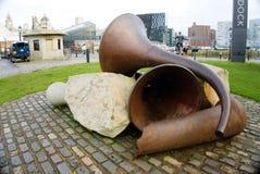 Скульптура Ливерпуль Raleigh стоковое фото