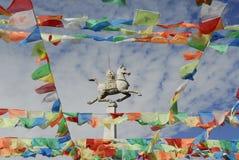 скульптура лошади Стоковая Фотография