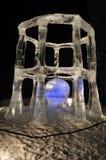 скульптура льда дела каверзная Стоковая Фотография RF