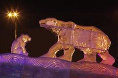 скульптура льда Стоковые Изображения RF