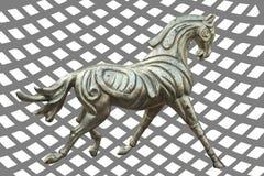 Скульптура металла лошади бесплатная иллюстрация
