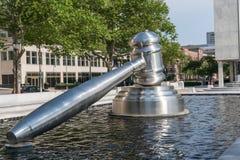 Скульптура молотка Колумбуса Огайо стоковое фото