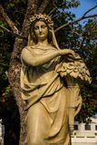 Скульптура на Челк-PA-в летнем дворце Стоковое фото RF
