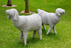 Скульптура овец Стоковая Фотография RF