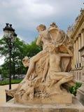 Скульптура Парижа Стоковое Изображение RF