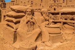 Скульптура песка на Frankston 5 Стоковое Изображение RF