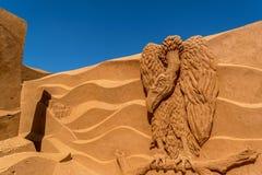 Скульптура песка на Frankston 16 Стоковые Изображения