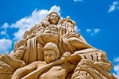 Скульптура песка Стоковые Фотографии RF
